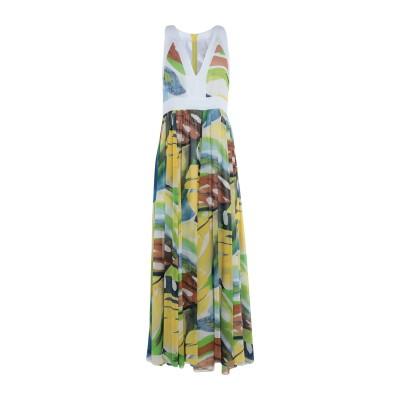 VICOLO ロングワンピース&ドレス ホワイト M ポリエステル 100% ロングワンピース&ドレス