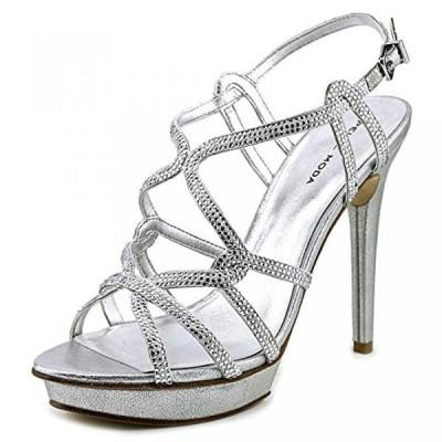 ペレモーダ レディース パンプス Pelle Moda Flirt Women Open Toe Suede Platform Sandal