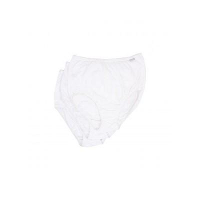 Jockey ジョッキー レディース 女性用 ファッション 下着 ショーツ Plus Size Elance(R) Brief 3-Pack - White/White/White