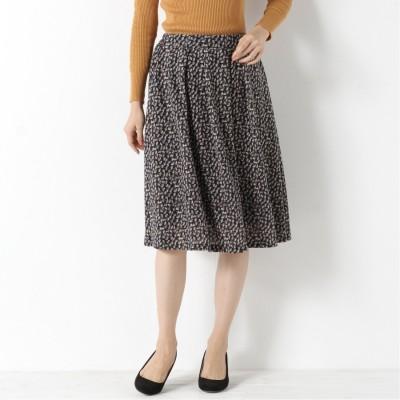 自宅で洗えてシワになりにくい◎無地・柄選べる起毛スカート