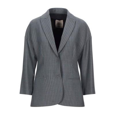 GARAGE NOUVEAU テーラードジャケット 鉛色 1 ポリエステル 53% / バージンウール 44% / ポリウレタン 3% テーラードジ