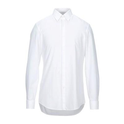 HUGO HUGO BOSS シャツ ホワイト 43 コットン 100% シャツ