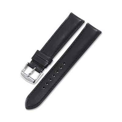 [イストラップ]iStrap 本革時計バンド 18mm 19mm 20mm 21mm 22mm 7色選択 レザー腕時計ベルト 防水