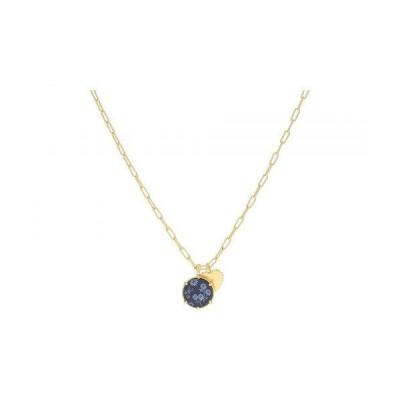 Madewell レディース 女性用 ジュエリー 宝飾品 ネックレス Colorful Flower Charm Pendant Necklace - Deep Navy