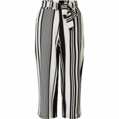 ジュームズ レイクランド James Lakeland レディース ボトムス・パンツ Bow Waist Stripy Trouser Black