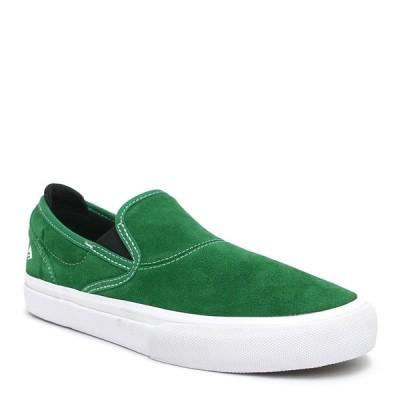 EMERICA SHOES エメリカ シューズ スニーカー WINO G6 SLIP ON 緑/白/黒 GREEN/WHITE/BLACK スケートボード  スケボー