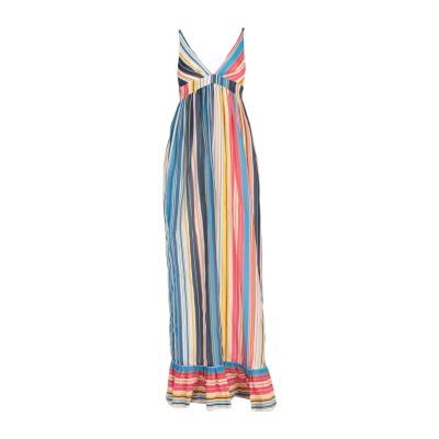 ピンコ PINKO ロングワンピース&ドレス ブルー 40 コットン 70% / シルク 30% ロングワンピース&ドレス