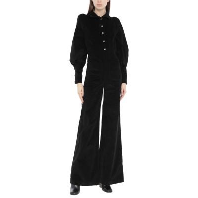 ANNA MASON ジャンプスーツ ブラック 6 コットン 100% ジャンプスーツ