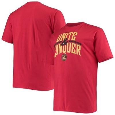 ファナティクス ブランデッド メンズ Tシャツ トップス Atlanta United FC Fanatics Branded Big & Tall Slogan T-Shirt