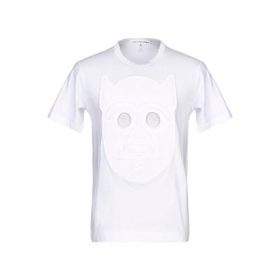 COMME des GARÇONS SHIRT T シャツ ホワイト S コットン 100% T シャツ
