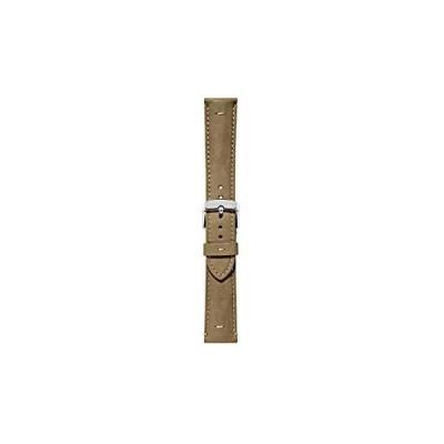 MORELLATOモレラート ヌバック 時計ベルト BERNINI ベルニーニ 20mm ラストグリーン 交換用工具付き [正規輸入品] X