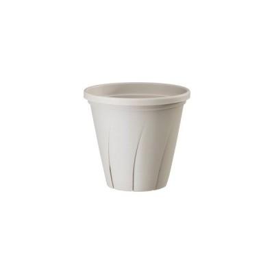 根はり鉢 8号 ホワイト ( 4.8L )/ 大和プラスチック