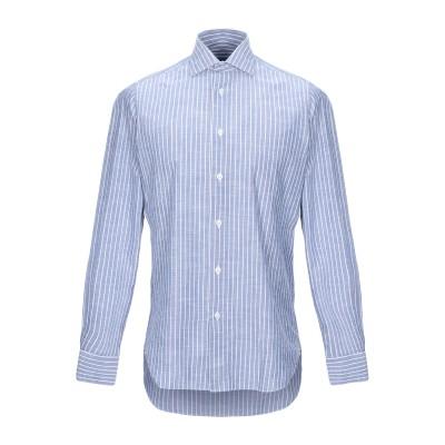 ボリオリ BOGLIOLI シャツ ブルー 40 コットン 100% シャツ