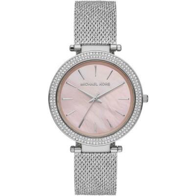 マイケルコース 腕時計 アクセサリー レディース Women's Darci Stainless Steel Mesh Bracelet Watch 39mm Silver