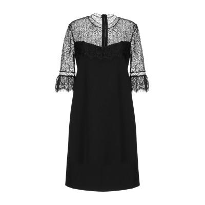 ANNA RACHELE ミニワンピース&ドレス ブラック 40 ポリエステル 95% / ポリウレタン 5% / ナイロン / レーヨン ミニワン