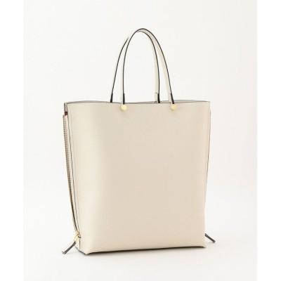 【ロペ】 Y bag Large(サイドジップ縦型トートバッグ) レディース オフホワイト F ROPE'
