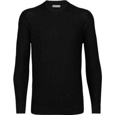 アイスブレーカー Icebreaker メンズ ニット・セーター トップス Waypoint Crewe Sweater Black