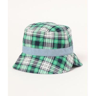 Si・Shu・Non / チェックダンガリークルリンハット KIDS 帽子 > ハット