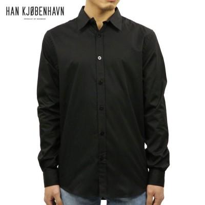 ハン HAN KJOBENHAVN メンズ シャツ EVERYDAY SHIRT 39.1 BLACK
