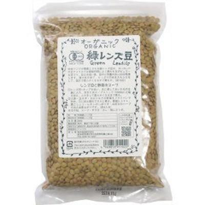 桜井食品 オーガニック 緑レンズ豆(500g)[胡麻(ごま)・豆]