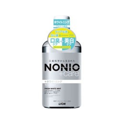 ライオン/NONIOプラスホワイトニングデンタルリンス600ml