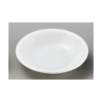 ☆ 小皿 ☆ 白塩小皿 [ 80 x 17mm ] 【料亭 旅館 和食器 飲食店 業務用 】