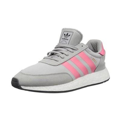 adidas Originals Women's I-5923 Running Shoe, Grey/Chalk Pink/Black, 9 M US