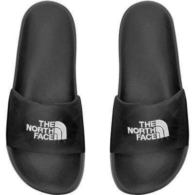 ノースフェイス サンダル シューズ レディース The North Face Women's Nupste Slides Black/White 01