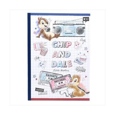 チップ&デール 横罫ノート B5学習ノート カセット ディズニー カミオジャパン 新学期 準備 文具