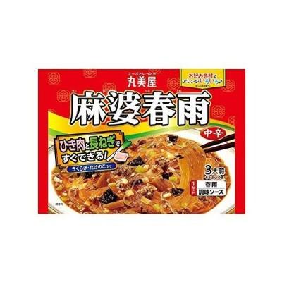 丸美屋食品工業 麻婆春雨 中辛 210g ×8袋