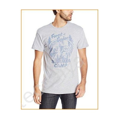 Star Wars Men's Forest Camp T-Shirt, Athletic Heather, Small並行輸入品