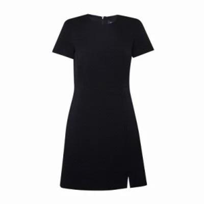 フレンチコネクション ボディコンドレス Hua Texture Fitted Dress utility blue