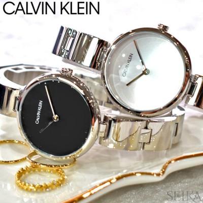 (ウォッチフェア)カルバンクライン 時計 (224)K9U23141 (225)K9U23146   レディース 時計 ck シルバー ブラック