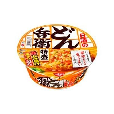 日清食品 どん兵衛 特盛かき揚げ天ぷらうどん カップ 138g x 12個