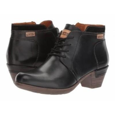 Pikolinos レディース 女性用 シューズ 靴 ブーツ アンクル ショートブーツ Rotterdam 902-8901 Black【送料無料】