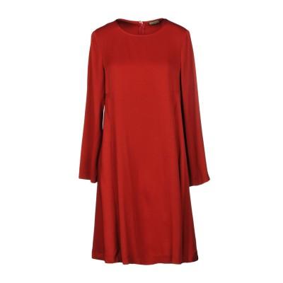 MALÌPARMI ミニワンピース&ドレス レッド 40 75% アセテート 25% レーヨン ミニワンピース&ドレス