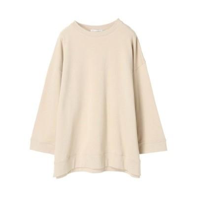 tシャツ Tシャツ ワイドスリーブBIG裏毛チュニック *●