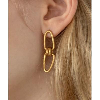ALEXIA STAM / Triple Loop Gold Earrings/トリプルループゴールドイアリング WOMEN アクセサリー > ピアス(両耳用)