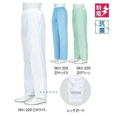 男性用トレパン 総ゴム レッグガード 〔抗菌、制電〕