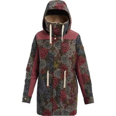 バートン レディース ジャケット・ブルゾン アウター Burton Women's Hazelton Jacket Cheetah Floral / Rose Brown