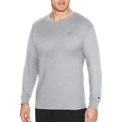 チャンピオン Champion メンズ トップス Classic Cotton Long Sleeve Shirt Oxford Grey