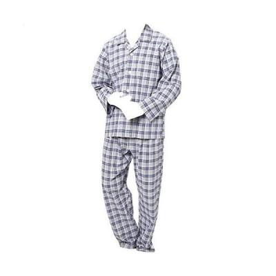 パジャマ グンゼの消臭 長袖長ズボン B:グレー LL gz165