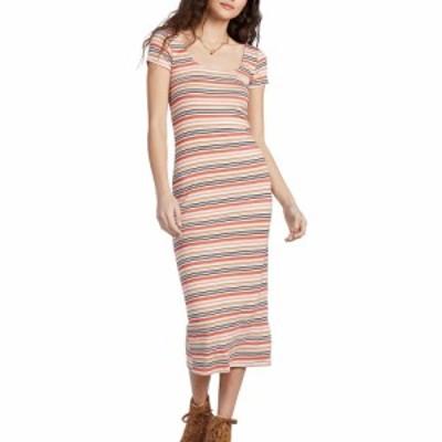 ビラボン BILLABONG レディース ワンピース ワンピース・ドレス Mid Day Stripe Short Sleeve Knit Dress Multi