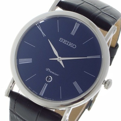 逆輸入 SEIKO 逆輸入セイコー SEIKO プルミエ Premier クオーツ メンズ 腕時計 SKP397P1 ネイビー
