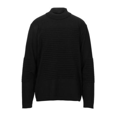 YOON タートルネック ファッション  メンズファッション  トップス  トレーナー ブラック