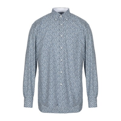 MIRTO シャツ ブルー S コットン 100% シャツ