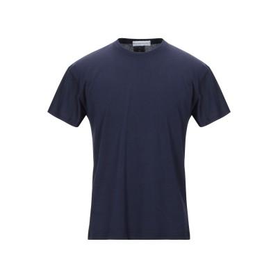 アレッサンドロデラクア ALESSANDRO DELL'ACQUA T シャツ ダークブルー S コットン 100% T シャツ