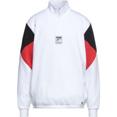 プーマ PUMA メンズ スウェット・トレーナー トップス Sweatshirt White