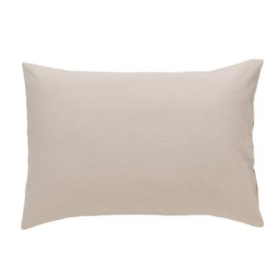 枕カバー(コットンウォッシュ BE S) ニトリ 『玄関先迄納品』 『1年保証』