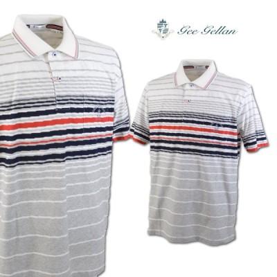 ゲラン メンズ 半袖ポロシャツ (L)(LL) GEE GELLAN 3210-2504-11